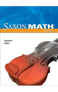 Saxon Math - Course 3